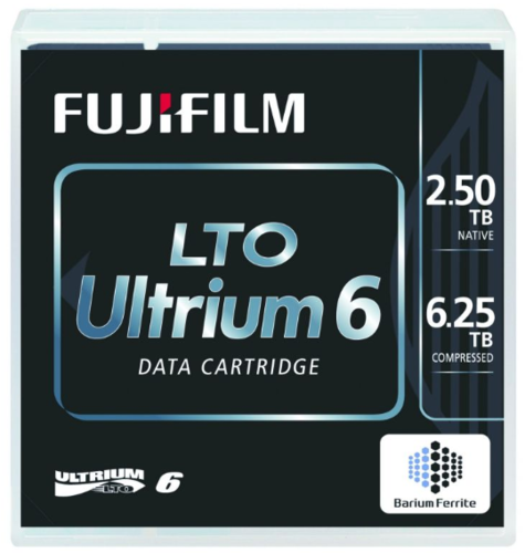 FujiFilm LTO 6 - 2.5/6.25TB Bafe Data Cartridge