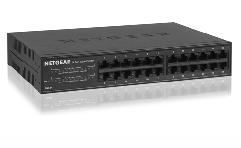 Netgear GS324 SOHO 24 Port Gigabit 10/100/1000 Unmanaged Switch