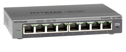 Netgear GS108E ProSafe Plus 8-port 10/100/1000 Switch