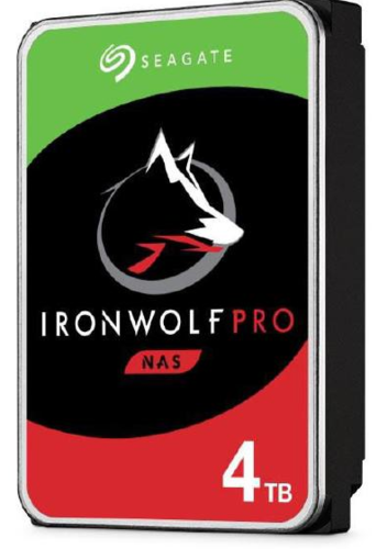 "Seagate IronWolf NAS Pro Internal 3.5"" SATA DRIVE, 4TB , 6GB/S, 7200RPM"