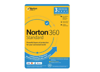 Norton 360 Standard 1 User 3 Device OEM